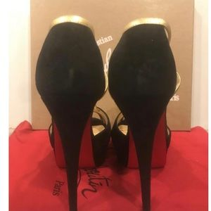 Authentic Christian Louboutin sandal